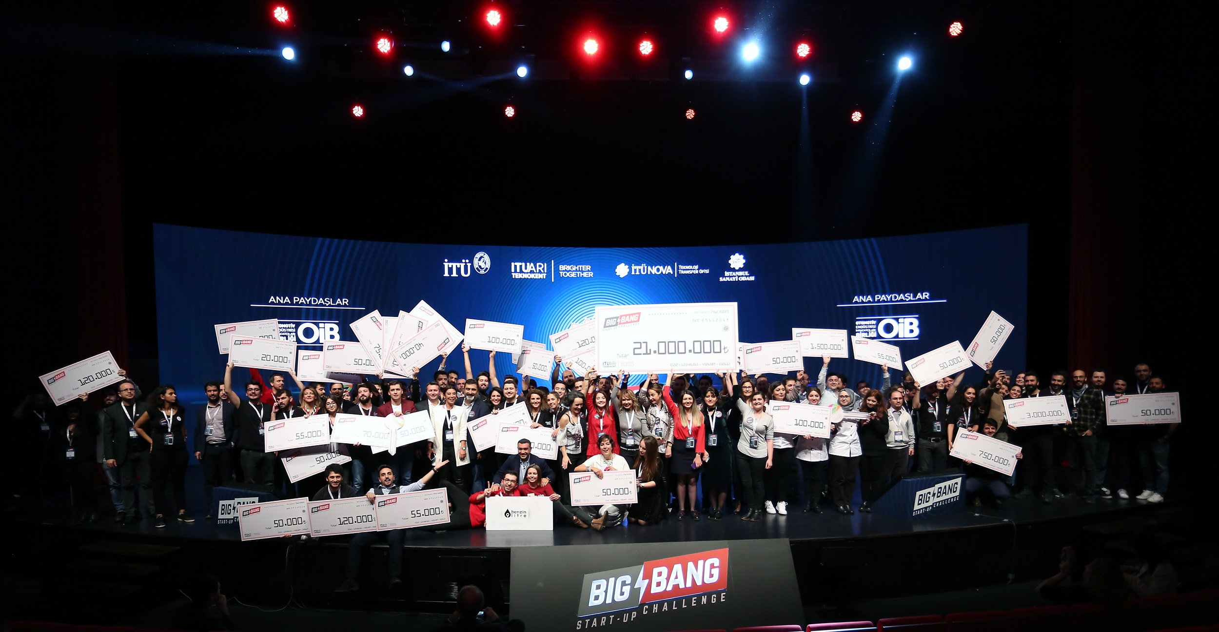 In Big Bang 2018, 21 Million TL Support to Entrepreneurs in One Night!